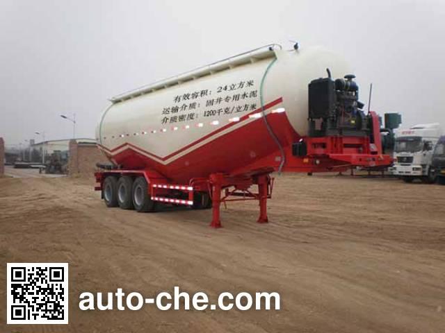 Juntong JF9402GXH ash transport trailer