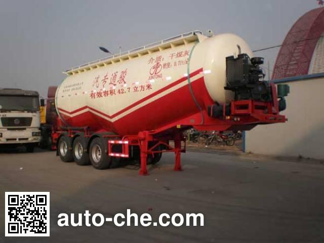 Juntong JF9403GFL medium density bulk powder transport trailer