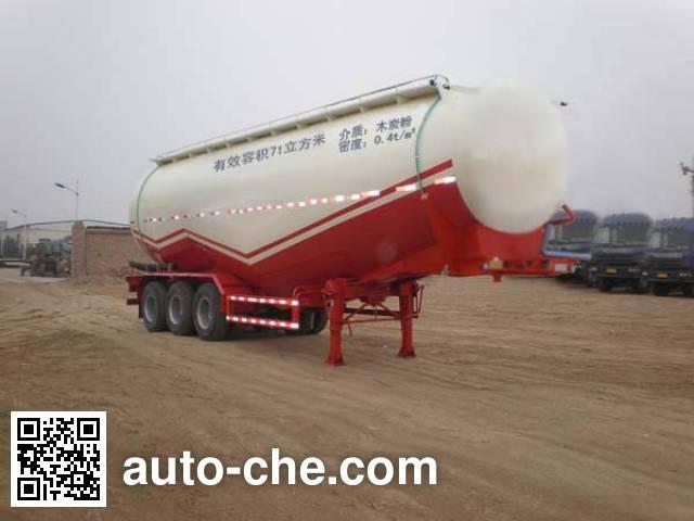 骏通牌JF9405GFLA低密度粉粒物料运输半挂车