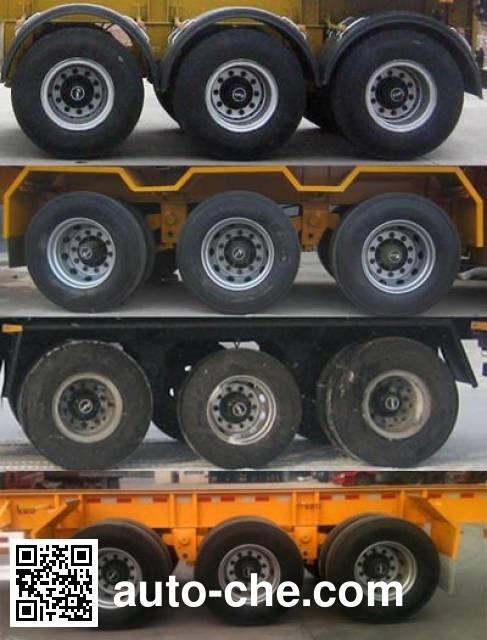 骏通牌JF9405TJZG集装箱运输半挂车