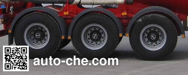 Juntong JF9407GFL medium density bulk powder transport trailer
