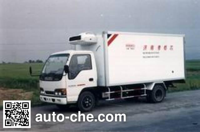 国道牌JG5042XLC冷藏车