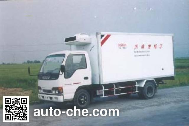 国道牌JG5050XLCA冷藏车