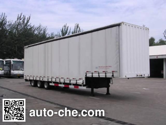 Guodao JG9320XXY curtainsider trailer