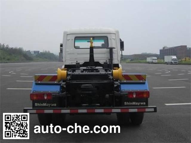 山花牌JHA5123ZXXDFB5车厢可卸式垃圾车