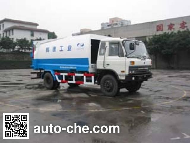 山花牌JHA5160ZYS可卸式压缩垃圾车