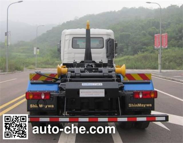 山花牌JHA5163ZXX车厢可卸式垃圾车