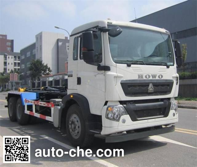 Shanhua JHA5255ZXXZZA5 detachable body garbage truck