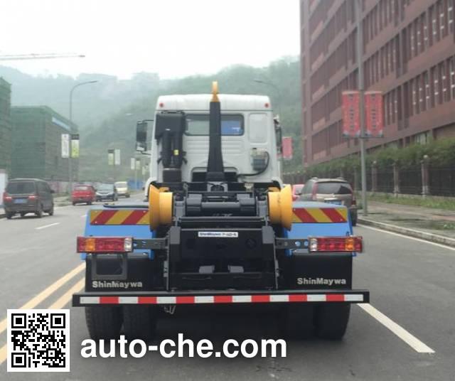 山花牌JHA5255ZXXZZB5车厢可卸式垃圾车