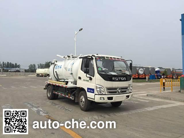 Yuanyi JHL5071GXWE sewage suction truck