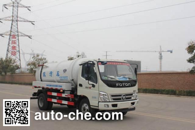Yuanyi JHL5080GXW sewage suction truck