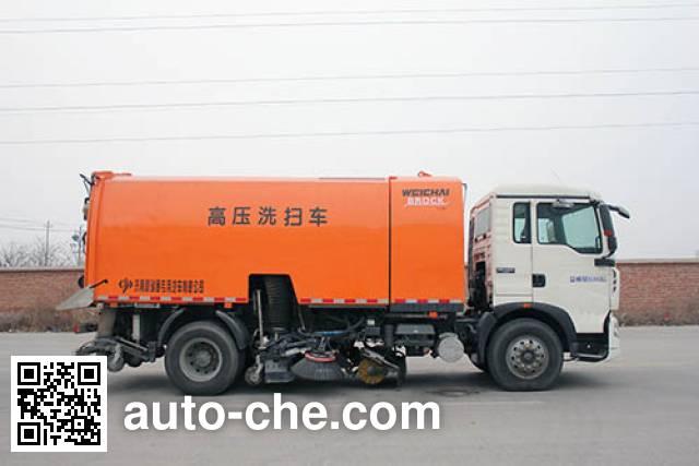 圆易牌JHL5160TXS洗扫车