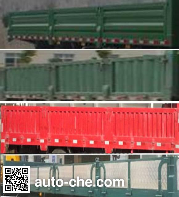 圆易牌JHL5257JSQM52ZZ随车起重运输车