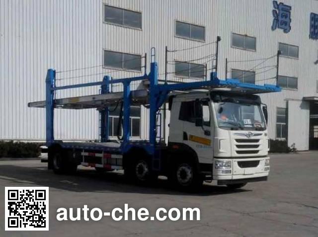 Haipeng JHP5220TCL car transport truck