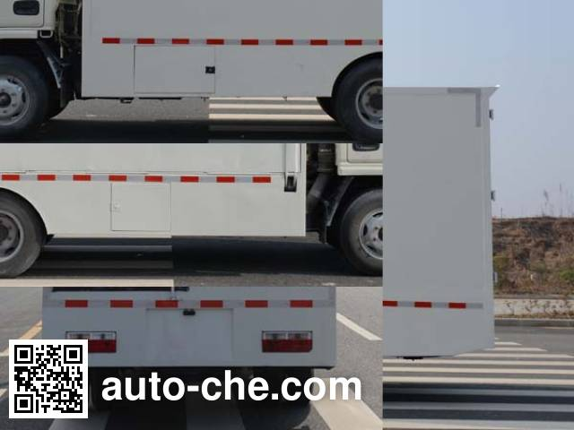 Duoshixing JHW5041XWTE5 mobile stage van truck
