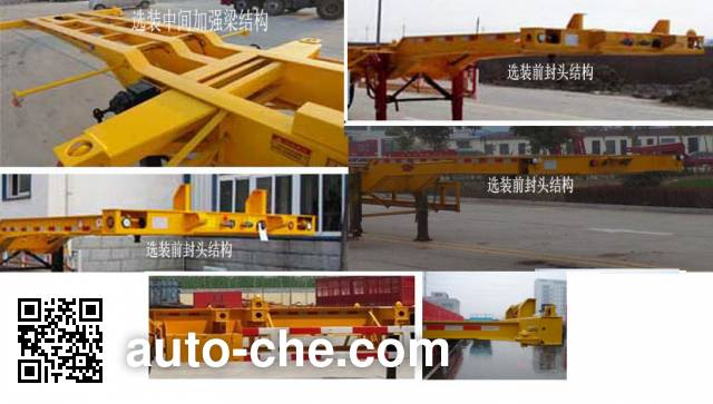 Yucheng JJN9380TJZE container transport trailer