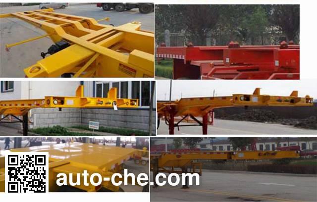 Yucheng JJN9400TJZE container transport trailer