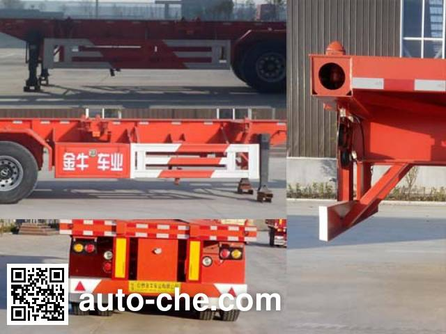 Yucheng JJN9401TJZ container transport trailer
