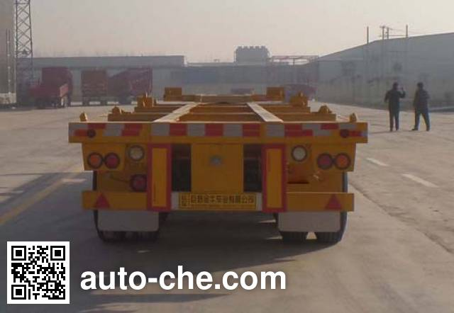 Yucheng JJN9401TJZE container transport trailer