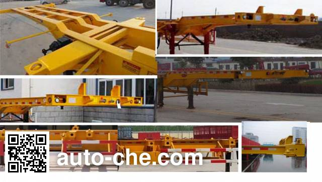 Yucheng JJN9402TJZE container transport trailer