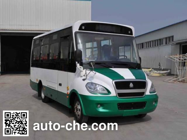 黄河牌JK6660GBEV1纯电动城市客车