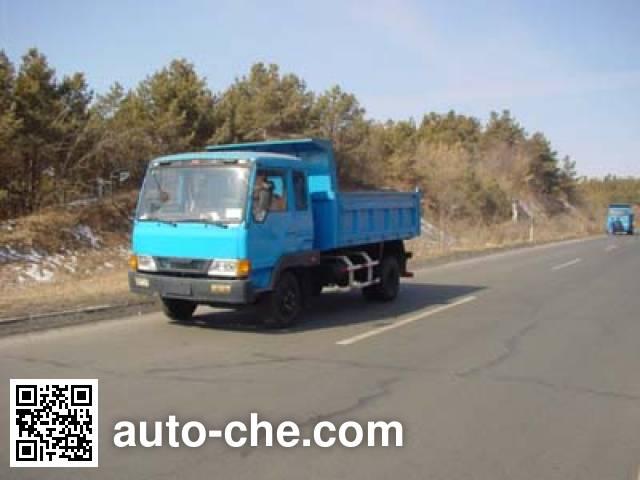 吉林牌JL5820PD自卸低速货车