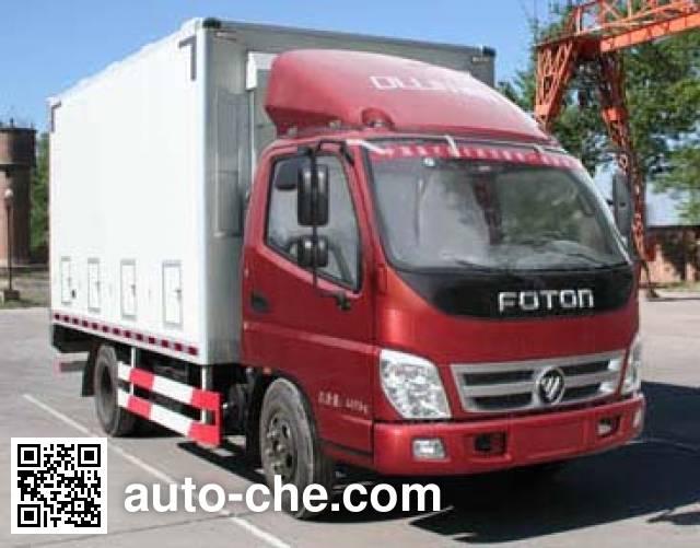 Tuoma JLC5049XCQ chicken transport truck
