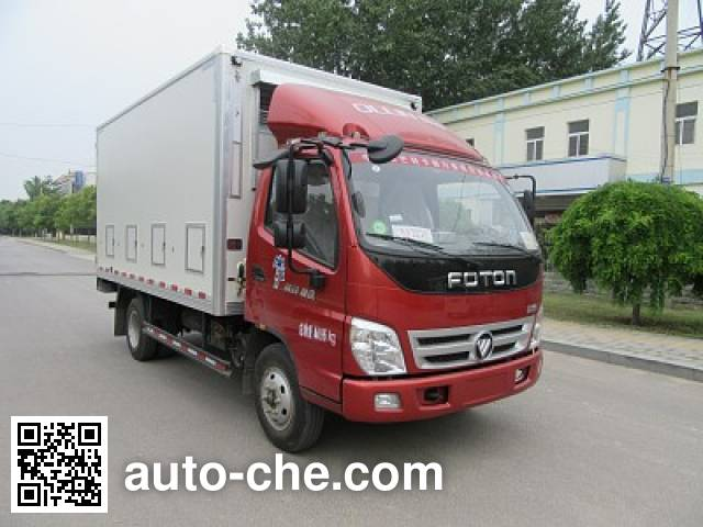 Tuoma JLC5049XCQBE chicken transport truck