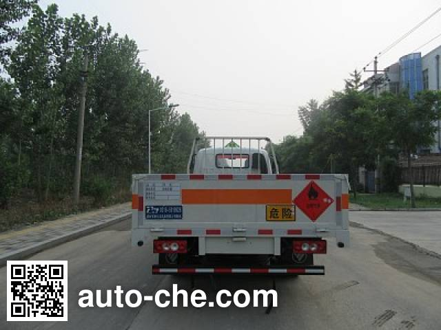 Tuoma JLC5078TQP gas cylinder transport truck