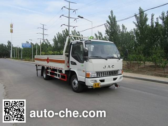 Tuoma JLC5091TQPBE gas cylinder transport truck