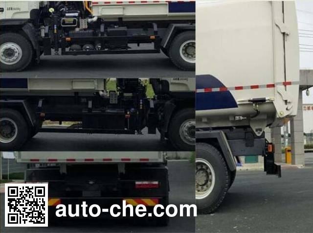 Jinqi JLL5250ZDZ lifting garbage truck