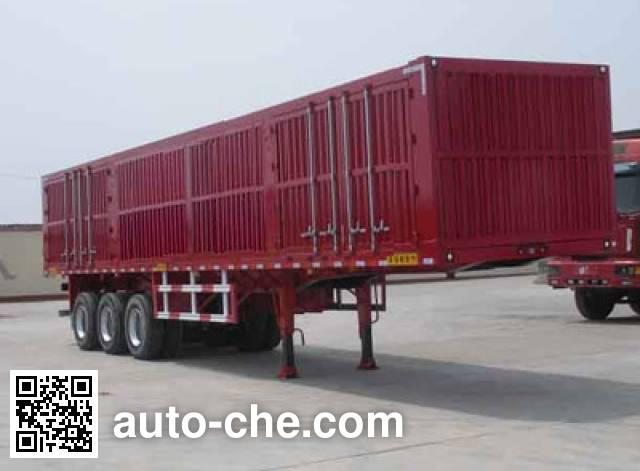 Lantian JLT9403XXY box body van trailer