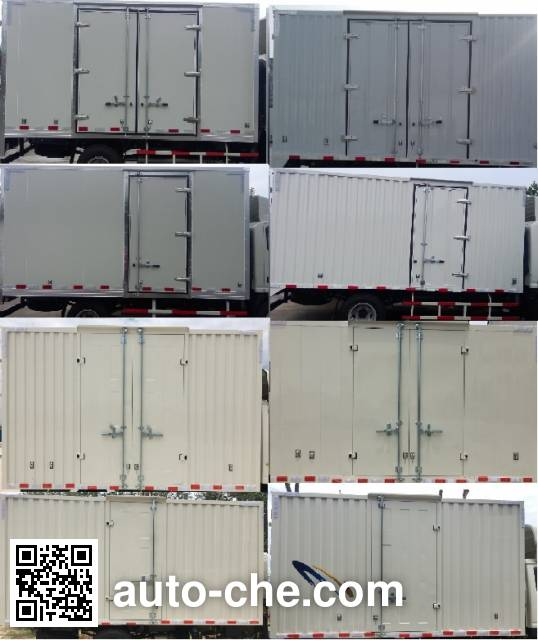 Qiling JML5040XXYCD5 box van truck