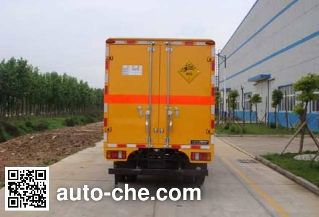 Jiangling Jiangte JMT5040XQYXG2 explosives transport truck