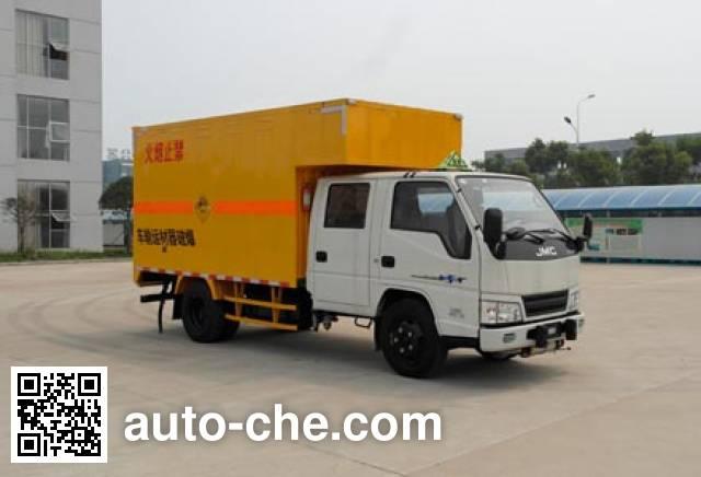 Jiangling Jiangte JMT5040XQYXSG2 explosives transport truck