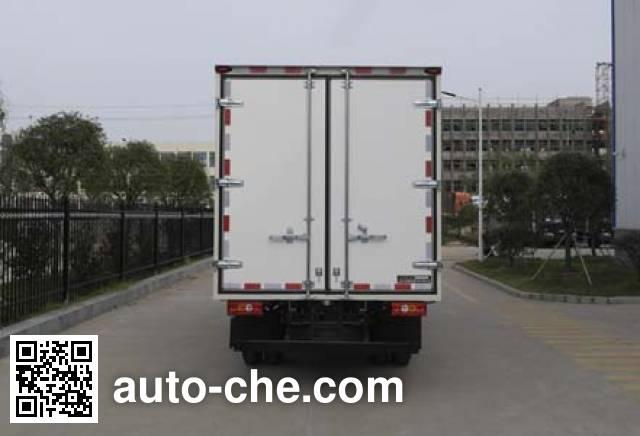 Jiangling Jiangte JMT5040XXYXG2 box van truck