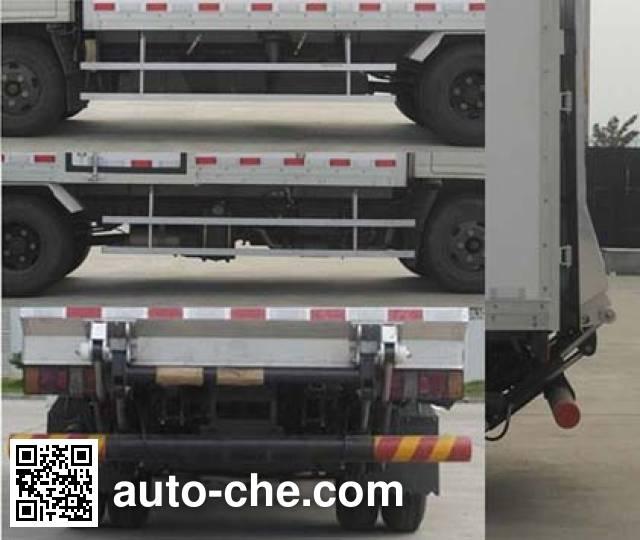 Jiangling Jiangte JMT5040XXYXGE2 box van truck