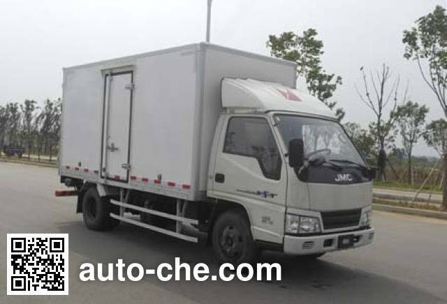 江铃江特牌JMT5040XXYXGE2厢式运输车