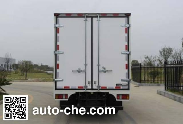 Jiangling Jiangte JMT5042XXYXG2 box van truck