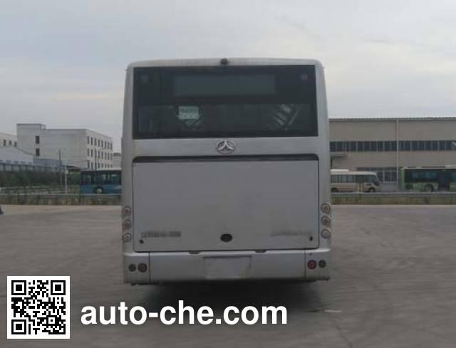 晶马牌JMV6105GRBEV3纯电动城市客车