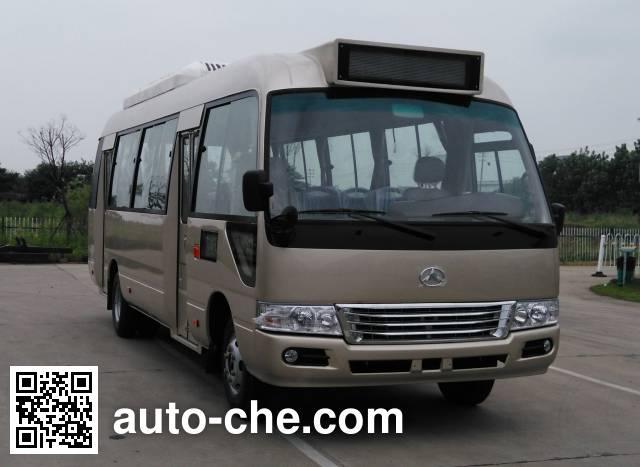 晶马牌JMV6702GRBEV纯电动城市客车