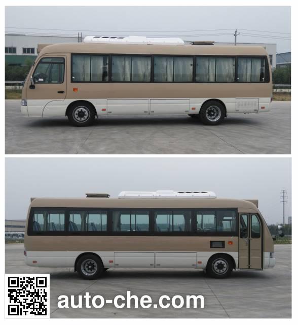晶马牌JMV6820GRBEV1纯电动城市客车
