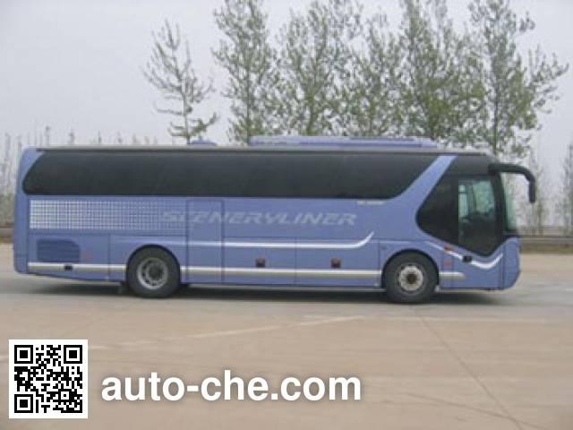 Young Man JNP6100-2E luxury tourist coach bus