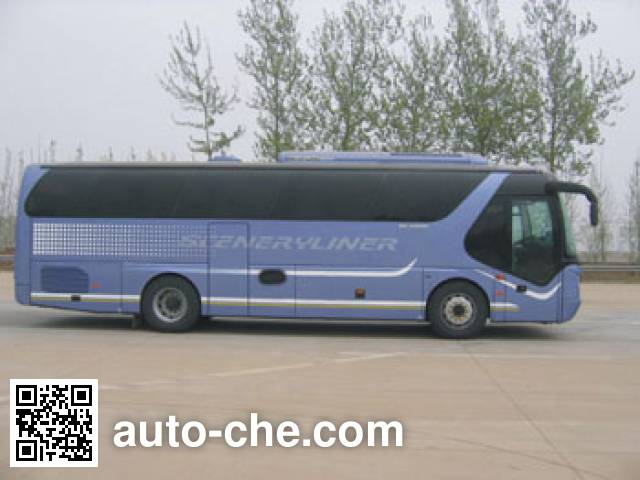Young Man JNP6100E luxury tourist coach bus