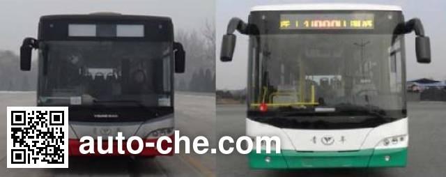 青年牌JNP6120PHEV1混合动力城市客车