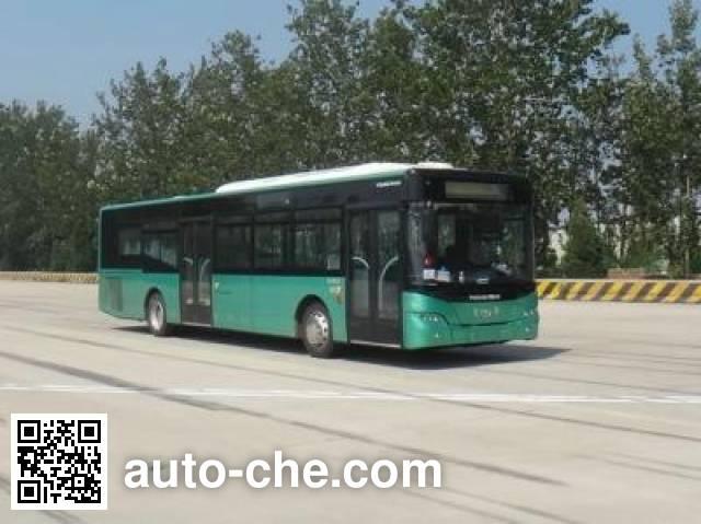 青年牌JNP6120CHEV2混合动力城市客车