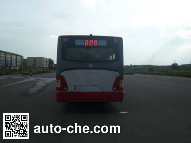 青年牌JNP6120GHP-1混合动力城市客车
