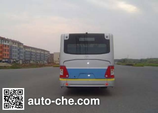 青年牌JNP6120GHP-2混合动力城市客车