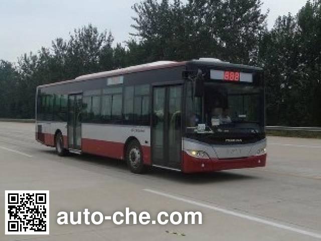 青年牌JNP6120GM豪华城市客车
