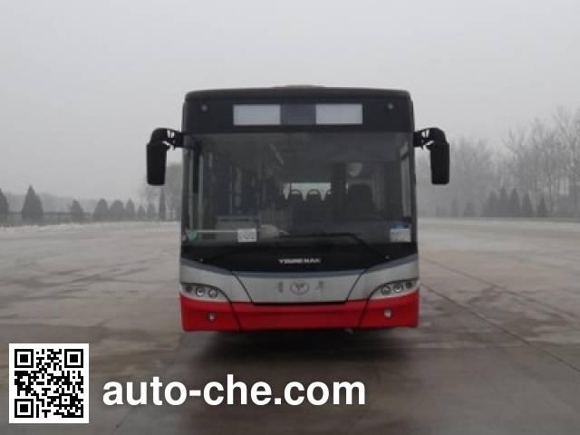 青年牌JNP6120PHEV混合动力城市客车